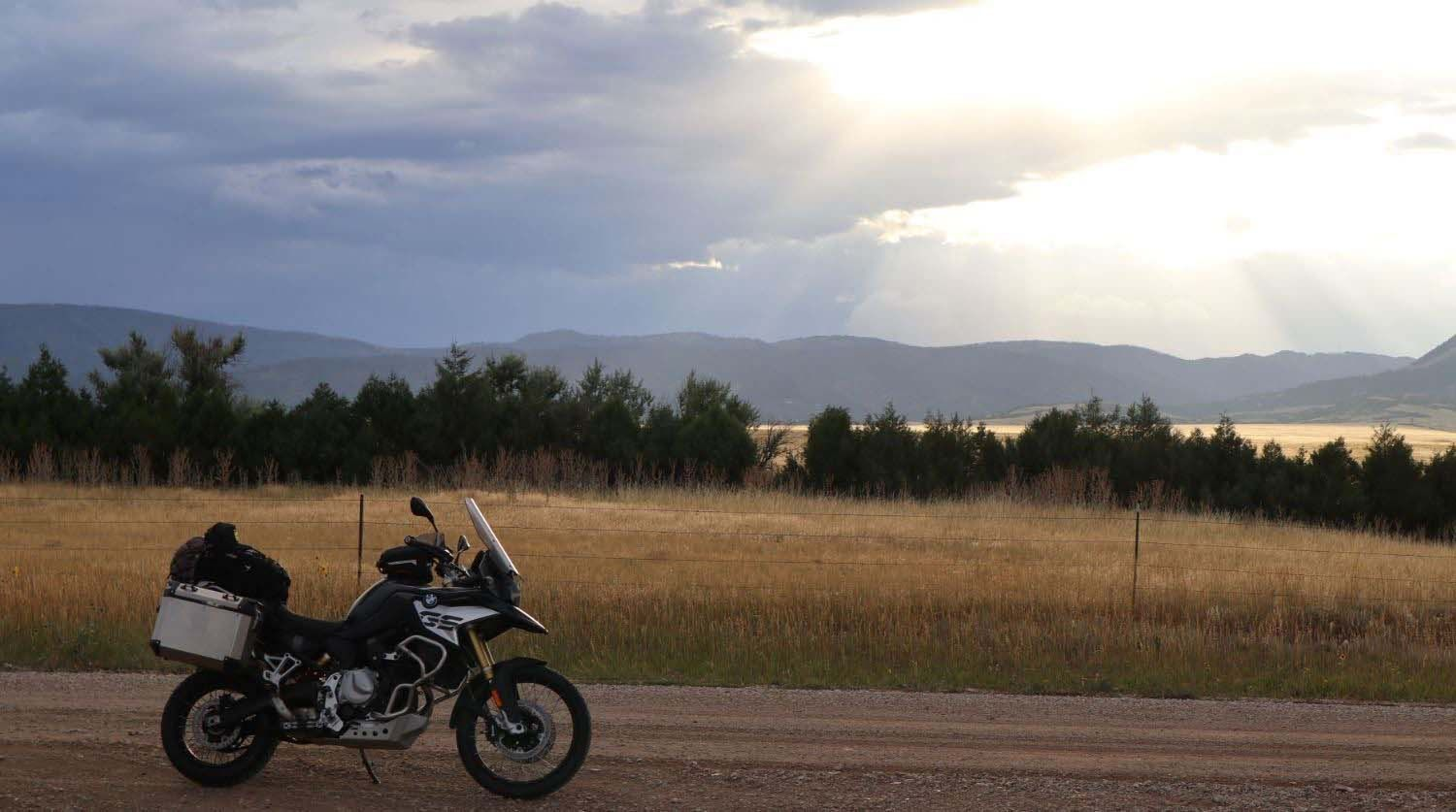 Why Adventure Bikes are Better Baggers than
