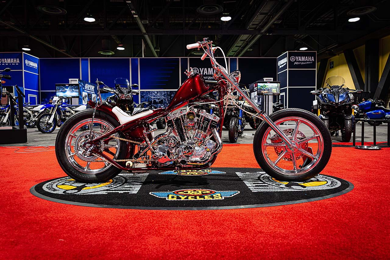 J&P Cycles Ultimate Builder Custom Bike Show Long Beach Winners