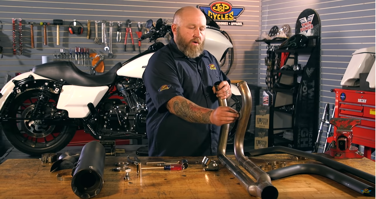 How to Install S&S 2-into-1 Sidewinder Exhaust