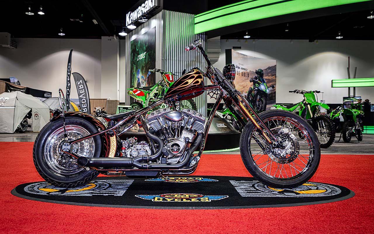 J&P Cycles Ultimate Builder Custom Bike Show Denver Winners