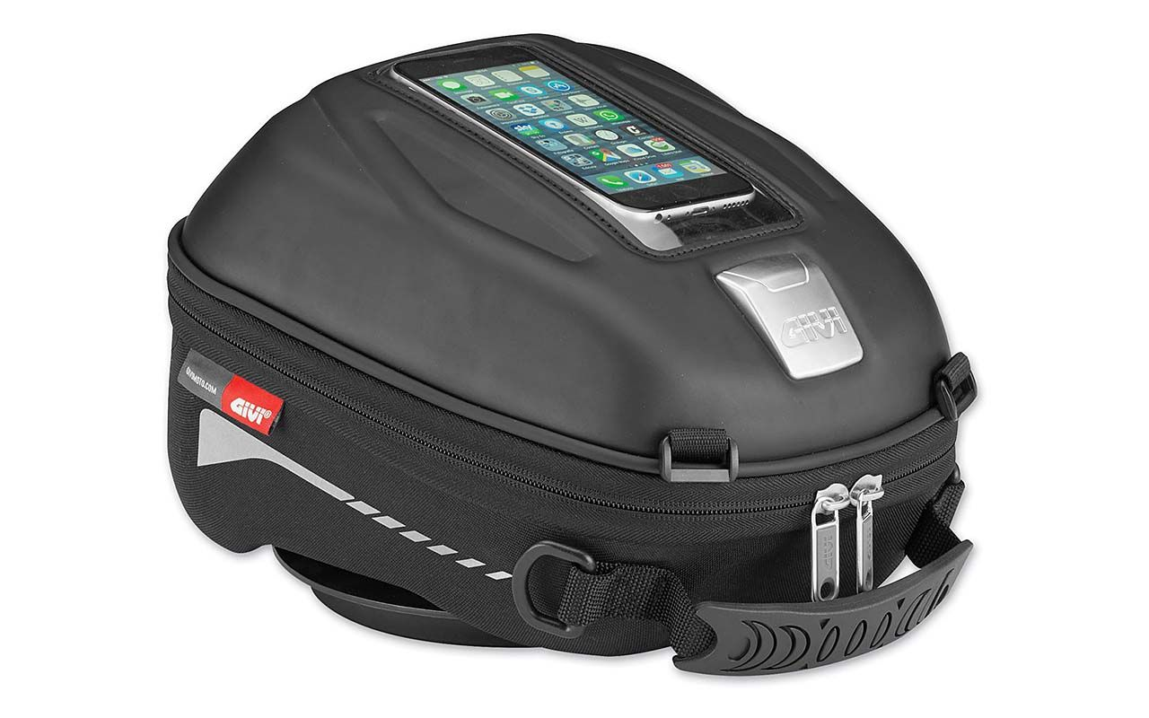 Givi Tanklock Sport-T Tank Bag Road Tested Video Review