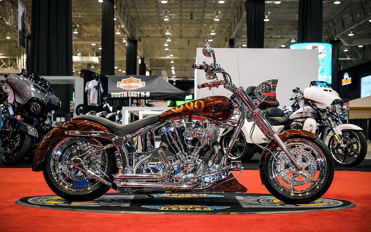 J&P Cycles Ultimate Builder Custom Bike Show Cleveland Winners