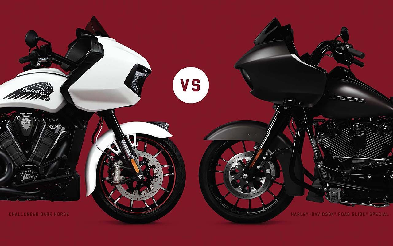 Indian Stoking Bagger War with Harley – Take the Challenger Challenge