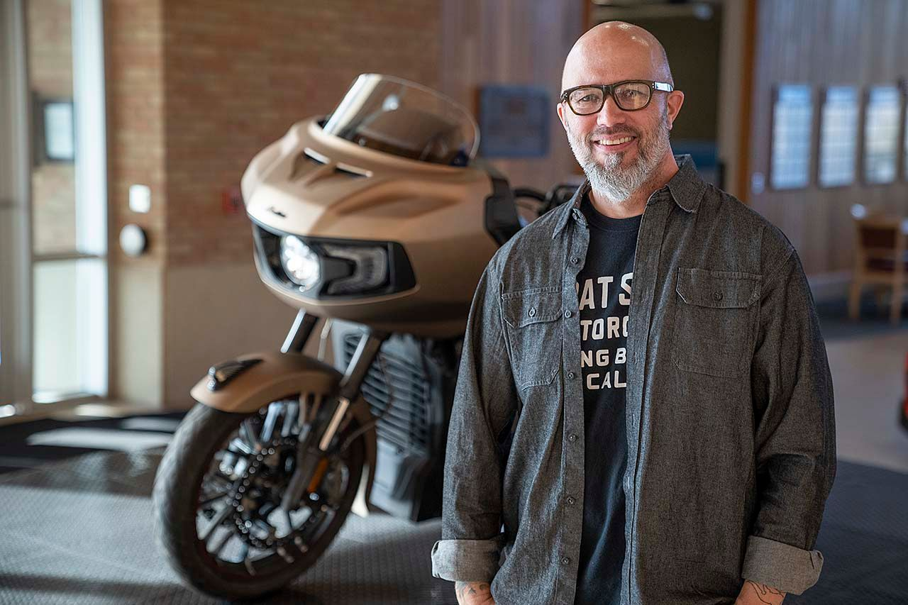 10 Questions with Ola Stenegard Director of Product Design at Indian Motorcycle