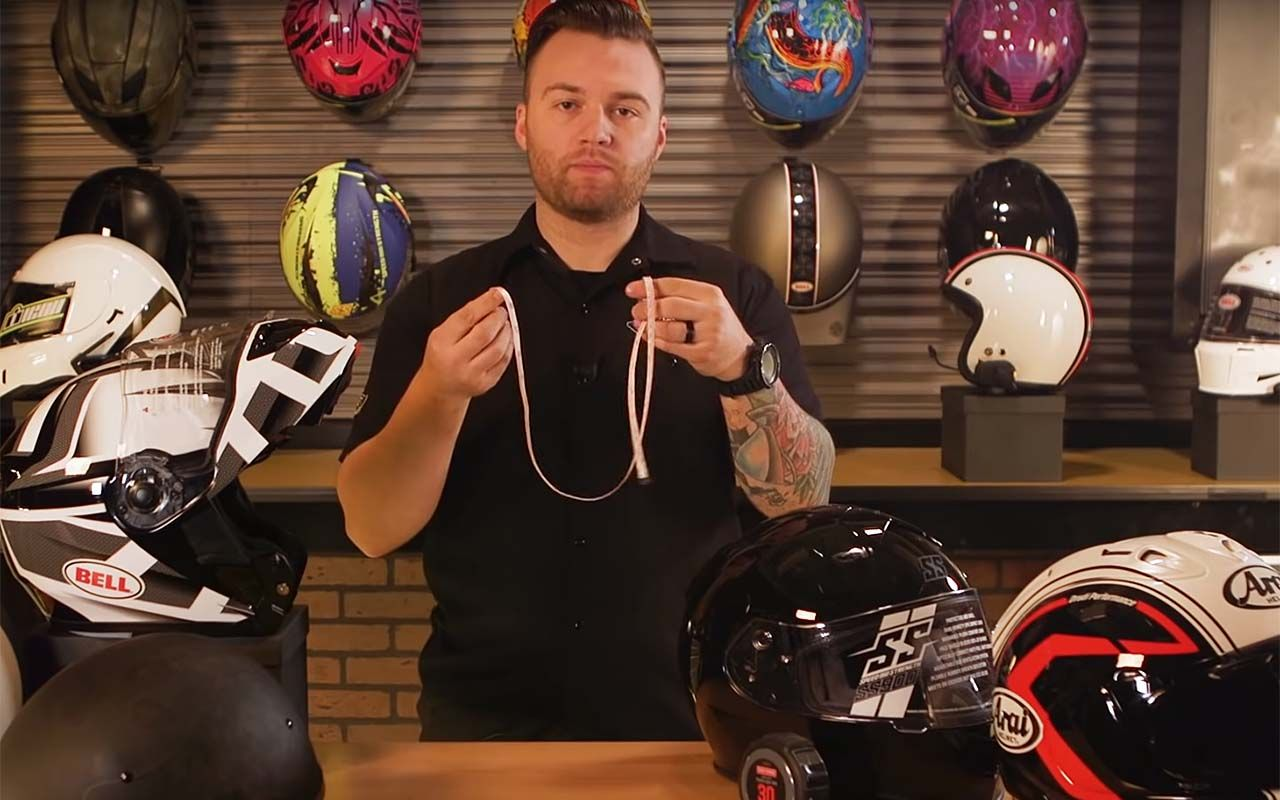 How to Measure to Get the Right Size Motorcycle Helmet