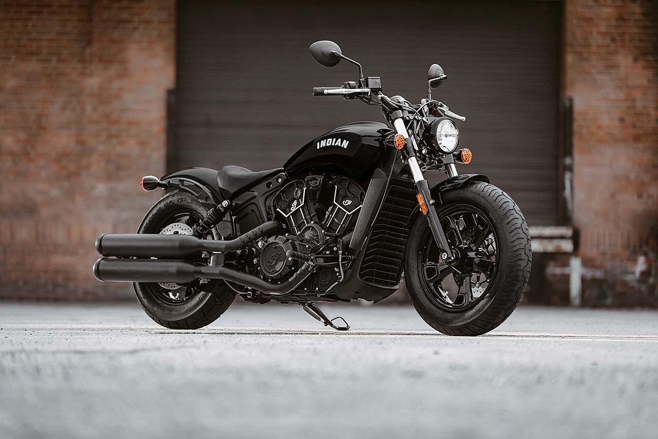 Indian Unveils 2020 Scout Bobber Sixty