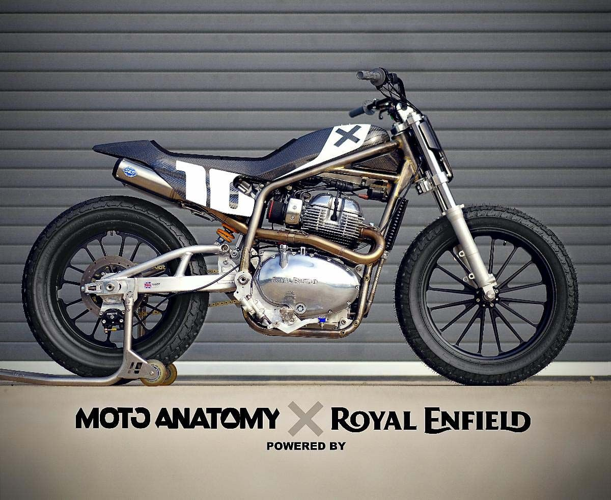 Royal Enfield is Going American Flat Track Racing with Johnny Lewis