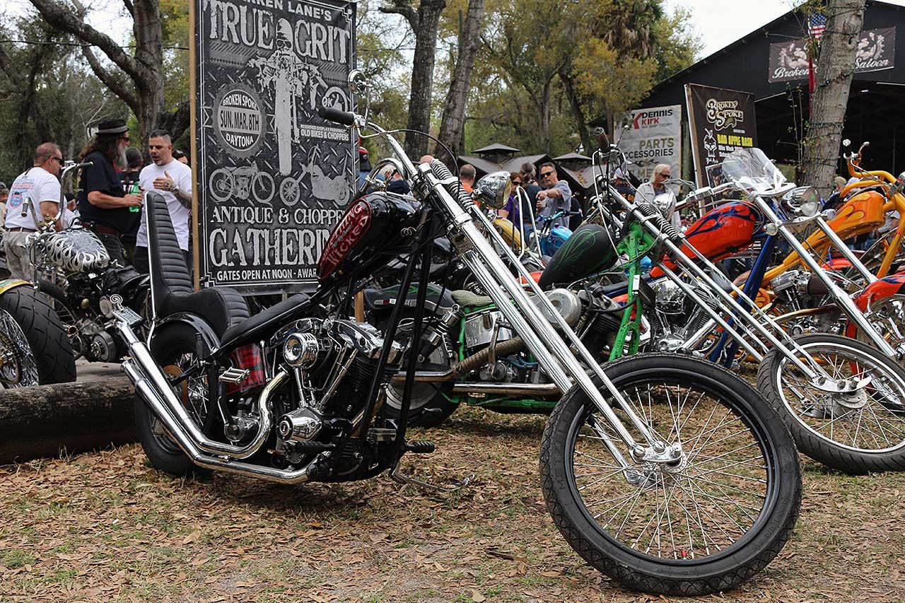 True Grit Antique and Chopper Gathering Bike Week 2020