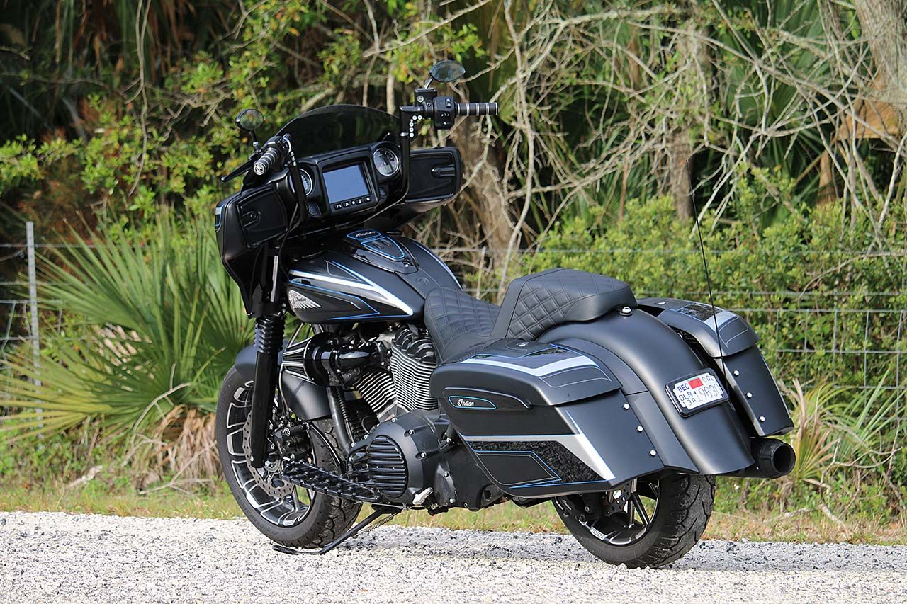 Max Ness Indian Chieftain