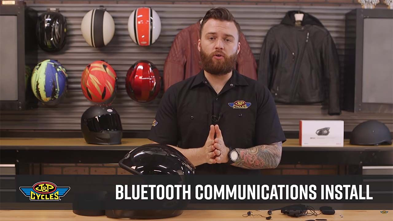 How to Add Bluetooth to a Motorcycle Helmet