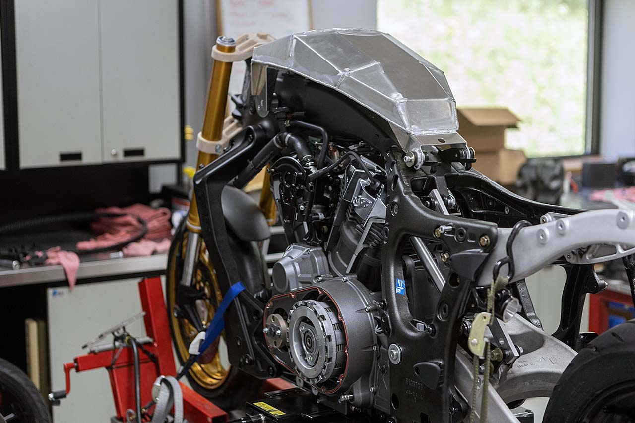 S&S Builds Indian Challenger Racer to Battle in King of the Baggers