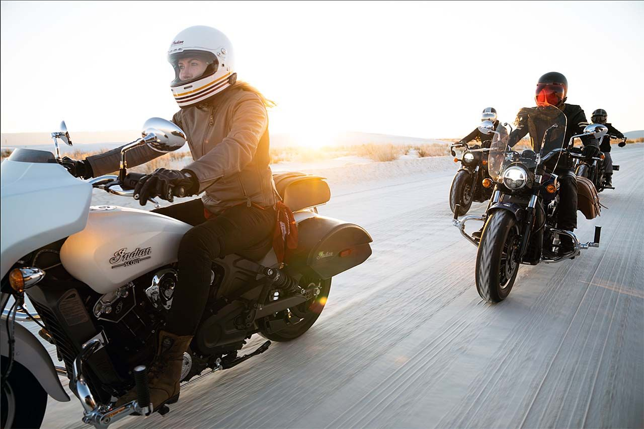 Indian Motorcycle Celebrates Women Riders, Partners with International Female Ride Day