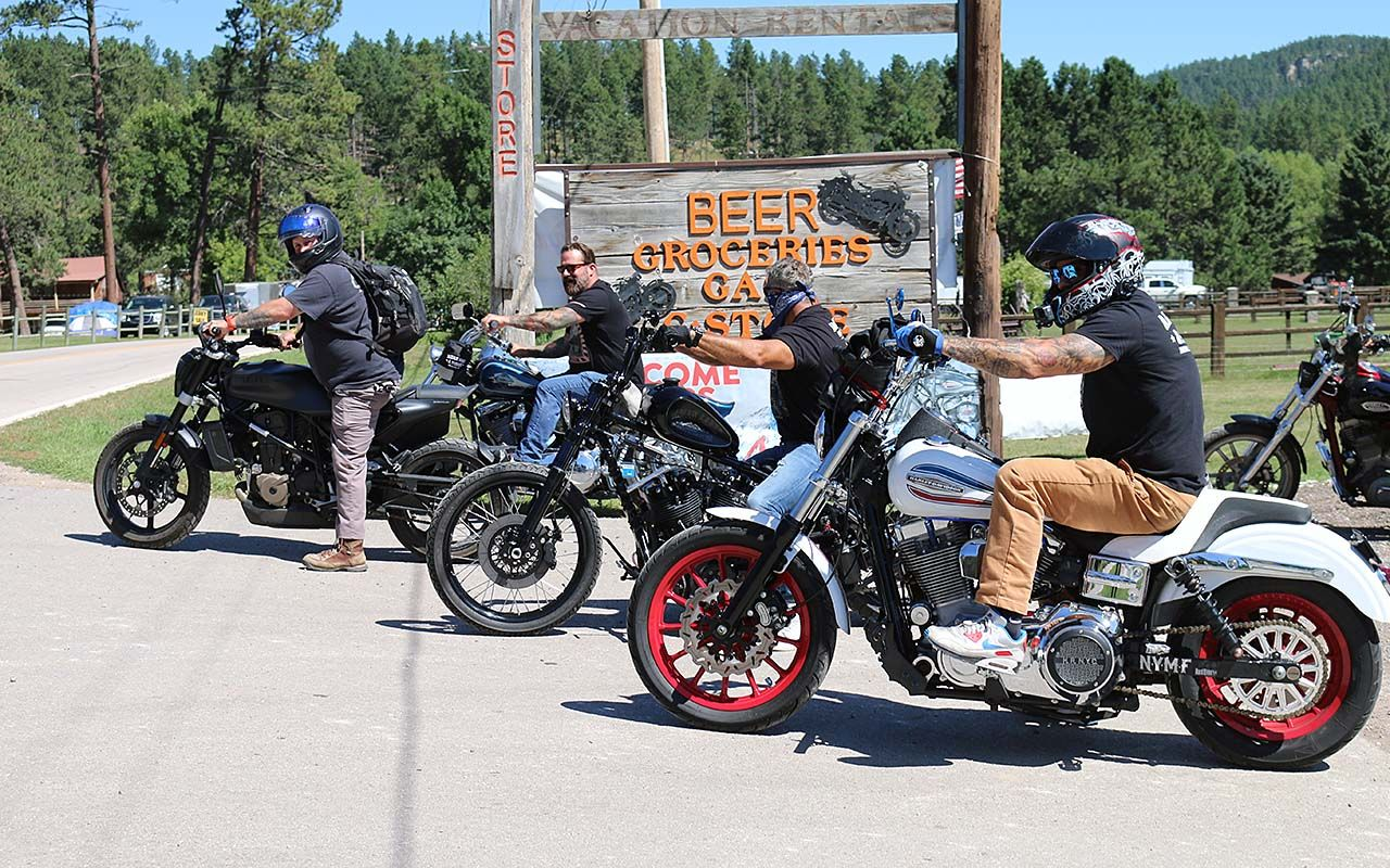 Rebels with a Cause - Aidan's Ride Sturgis   Invades the Black Hills
