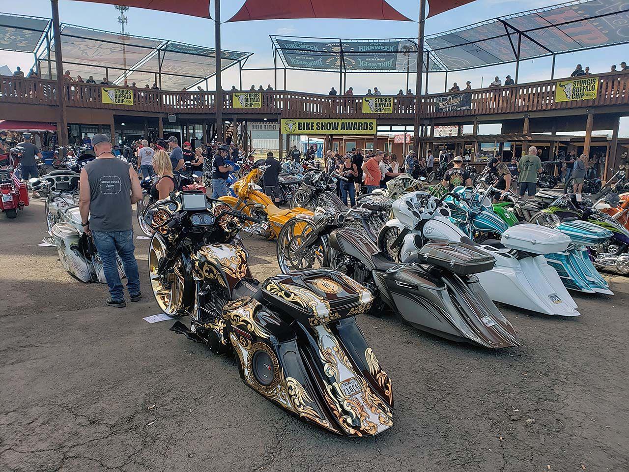 Baggers Rule 2020 Rat's Hole Custom Bike Show Sturgis