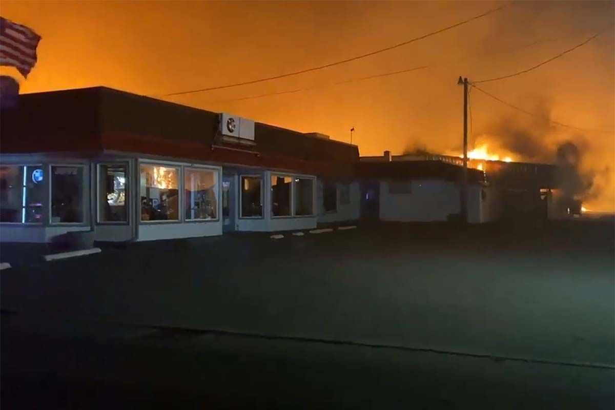 Oregon Fire Deals Devastating Blows to Local Motorcycle Community