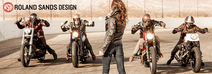 View the Entire Line of Roland Sands Design Products!