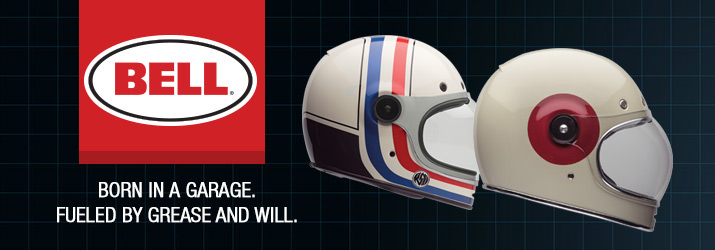 Bell Motorcycle Open Face Helmets