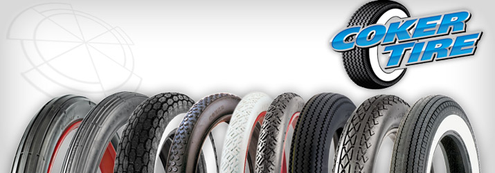 Coker Motorcycle Tires