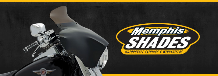 Memphis Shades Gold Wing Windshields