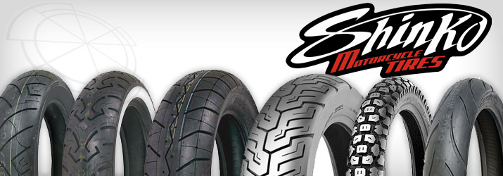 Shinko Kawasaki Motorcycle Tires