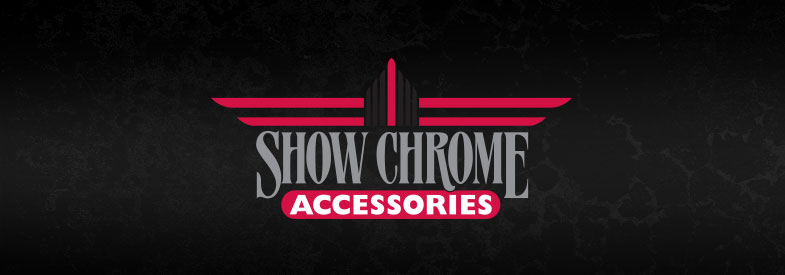Show Chrome Accessories Fairing Trim