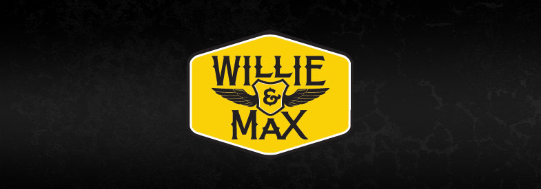 Willie and Max Gold Wing Travel Bags
