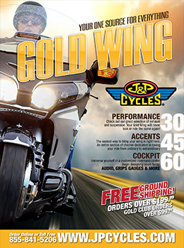 FREE Gold Wing Parts and Accessories Catalog