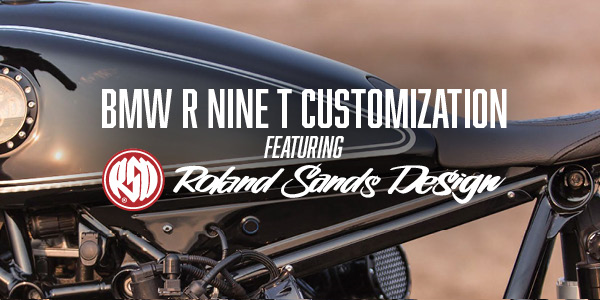 BMW R Nine T Customization