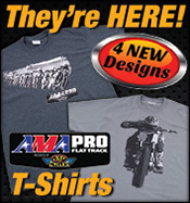 AMA Pro Flat Track Racing T-Shirts Now Available!
