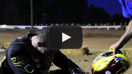 Jared Mees Crashes, Separates Shoulder, Finishes Second - 2013 Castle Rock TT - AMA Pro Flat Track