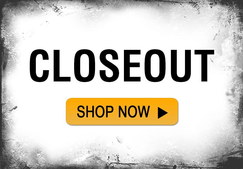 Shop Closeout