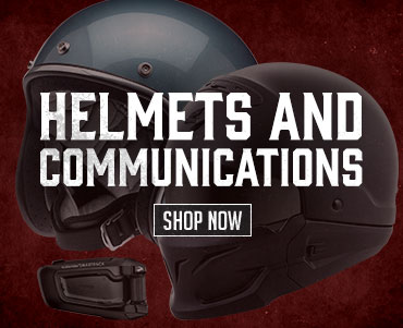 Shop Helmets and Communications