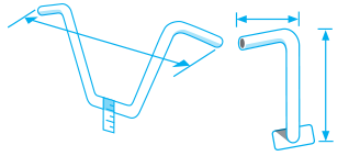 Handlebar Measurements Diagram