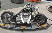 First Place 'Modified Street Motorcycle' Winner of the J&P Cycles Ultimate Custom Bike Show, Phoenix, Arizona