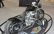 First Place 'Performance Custom Motorcycle' Winner of the J&P Cycles Ultimate Custom Bike Show, Phoenix, Arizona