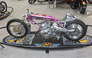 First Place 'Retro Modified' Winner of the J&P Cycles Ultimate Custom Bike Show, Phoenix, Arizona