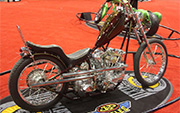 First Place 'Freestyle Motorcycle' Winner of the J&P Cycles Ultimate Custom Bike Show, Chicago, Illinois