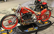 First Place 'Modified Harley Motorcycle' Winner of the J&P Cycles Ultimate Custom Bike Show, Chicago, Illinois