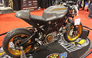 First Place 'Modified Street Motorcycle' Winner of the J&P Cycles Ultimate Custom Bike Show, Chicago, Illinois