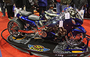 First Place 'Performance Custom Motorcycle' Winner of the J&P Cycles Ultimate Custom Bike Show, Chicago, Illinois