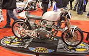 First Place 'Retro Modified' Winner of the J&P Cycles Ultimate Custom Bike Show, Chicago, Illinois
