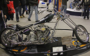 Second Place 'Freestyle Motorcycle' Winner of the J&P Cycles Ultimate Custom Bike Show, Minneapolis, Minnesota