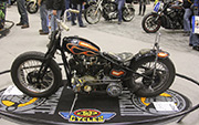 First Place 'Modified Harley Motorcycle' Winner of the J&P Cycles Ultimate Custom Bike Show, Minneapolis, Minnesota