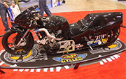 First Place 'Performance Custom Motorcycle' Winner of the J&P Cycles Ultimate Custom Bike Show, Cleveland, Ohio