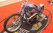 First Place 'Retro Modified' Winner of the J&P Cycles Ultimate Custom Bike Show, Cleveland, Ohio