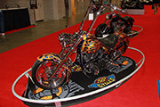 First Place 'Freestyle Motorcycle' Winner of the J&P Cycles Ultimate Custom Bike Show, Washington D.C.