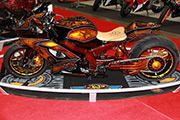 First Place 'Performance Custom Motorcycle' Winner of the J&P Cycles Ultimate Custom Bike Show, Washington D.C.