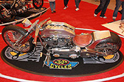 First Place 'Freestyle Motorcycle' Winner of the J&P Cycles Ultimate Custom Bike Show, Atltanta, Georgia