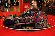 First Place 'Modified Street Motorcycle' Winner of the J&P Cycles Ultimate Custom Bike Show, Atltanta, Georgia