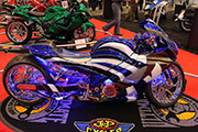 First Place 'Performance Custom Motorcycle' Winner of the J&P Cycles Ultimate Custom Bike Show, Atltanta, Georgia